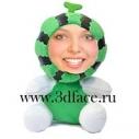 3D FACE куклы, арбузик, прикольные игрушки