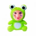 Уникальная игрушка - лягушонок с лицом, куклы 3d face