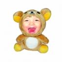 3D FACE кукла медвеженок, Необычный подарок игрушка