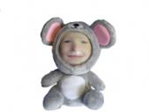 3D FACE кукла мышонок, Необычный подарок игрушка