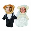 3D FACE кукла влюбленная парочка, медвежата, Необычный подарок игрушка