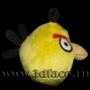 Игрушка 3D FACE, кукла Engry-birds, Желтый - 15-16 см.