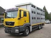 Автомобиль MAN TGA 26.440 для перевозки животных КАВА