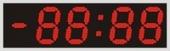 Табло «электронные часы» Alpha sign 200/4