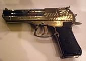 Пистолет-зажигалка большой, арт.1219