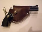 Револьвер-зажигалка малый с барабаном, арт.1218
