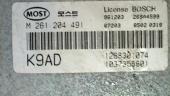 KIAClarus 99гБлок управления (ЭБУ)ДВС K9AD