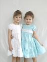 Детское платье 200-Тс(голубое)