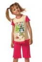 Пижама для девочки (Фуфайка+брюки)P2011829