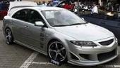 Аэродинамический обвес Samurai для Mazda 6
