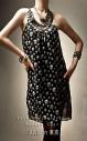 Платье с черепами