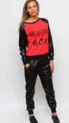Спортивный трикотажный костюм BOY London (Красный, Белый)