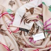 Шерстяная шаль Salvatore Ferragamo Осенний Букет Коллекция 2015