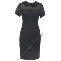 Платье с декоративным воротничком