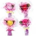 Цветы и букеты из полотенец