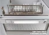 Встраиваемый светильник для сушки Tecnoinox Light Frame в шкаф 600 мм