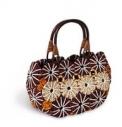 Женская соломенная сумка