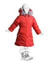 Рок Пилларс — Пальто пуховое для девочек М183