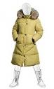 Пальто пуховое для девочек Рок Пилларс 186