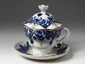 Чашка с блюдцем с крышкой Одуванчик ф. Подарочная-2, 250 мл