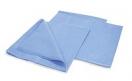 Простынь 80 на 200 см SMS 20 г м2 10 шт упак цвет голубой