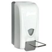 Дозатор локтевой Д-1000 для дезинфицирующих средств пластиковый с емкостью на 1000 мл