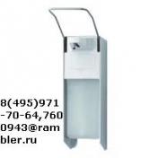 Дозатор локтевой В-1000 для антисептиков и антибактериального мыла алюминивый с емкостью на 1000 мл