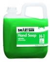 Антибактериальное жидкое пенное мыло для рук Smart San H-1, PH 9-11, емкость 5л