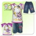 Комплект для девочки (футболка и бриджи)