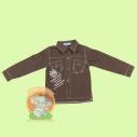Рубашка для мальчика (два кармана)