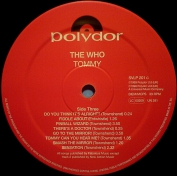 THE  WHO   1969   Tommy