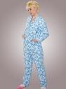 Теплые фланелевые пижамы