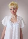 Ночная сорочка из шитья с кружевом