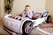 Кровать-машина Formula Advesta (Адвеста), белая