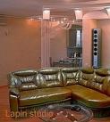 Угловой кожаный диван Даллас