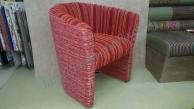 Полукруглые кресла для ресторана