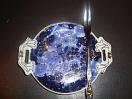 Тарелка под оливки с кристаллами сваровски