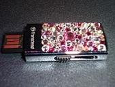 USB накопитель с кристаллами сваровски 4gb