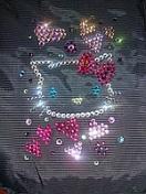 Сумка для ноутбука с кристаллами сваровски
