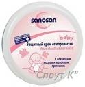 Защитный крем от опрелостей Sanosan.