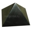 Пирамида из шунгита полированная 4 см
