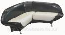 Кухонный угловой диван «Аврора» 120x150