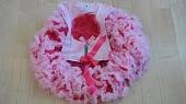 Супер пышная юбка с футболкой «букет роз» На рост от 90 до 120см