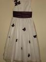 Платье 6 7 лет Victoria Kay с темно-филетовыми бабочками