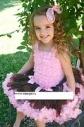 Комплект Супер пышная юбка пачка Шоколад с нежно-розовым и топ — премиум На рост от 90см до 120см