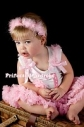 """Комплект пышная нежно-розовая юбка пачка и футболка для малышек """"Первый День Рождения Ярко-розовая или нежно-розовая"""