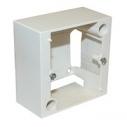 Коробка накладная Legrand 82х82 открытой пр. для розетки 20А, 400V