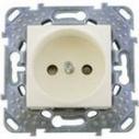 Розетка электрическая без заземления Schneider Electric Unica