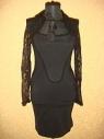 AlexanderMCQueen платье черного цвета 544
