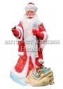 Новогодняя фигура Дед Мороз 185 см